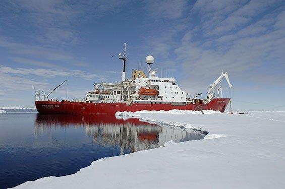 Antarctic Seabed Carbon Capture Change